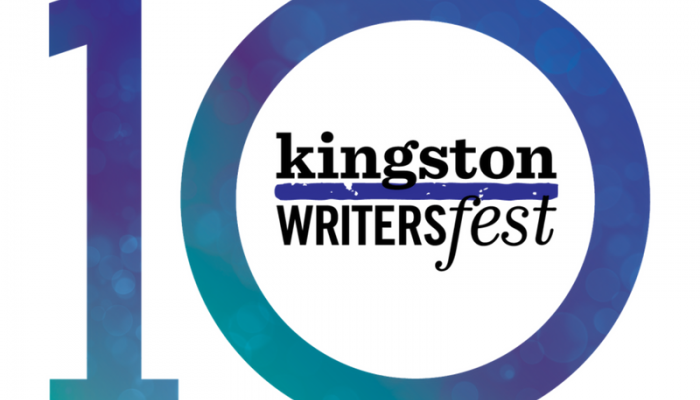 Kingston WritersFest 10 years logo